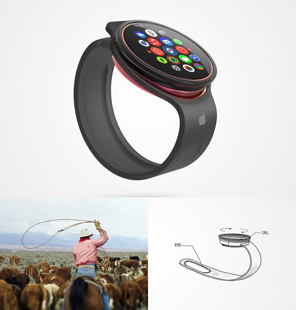 Apple Rope Watch