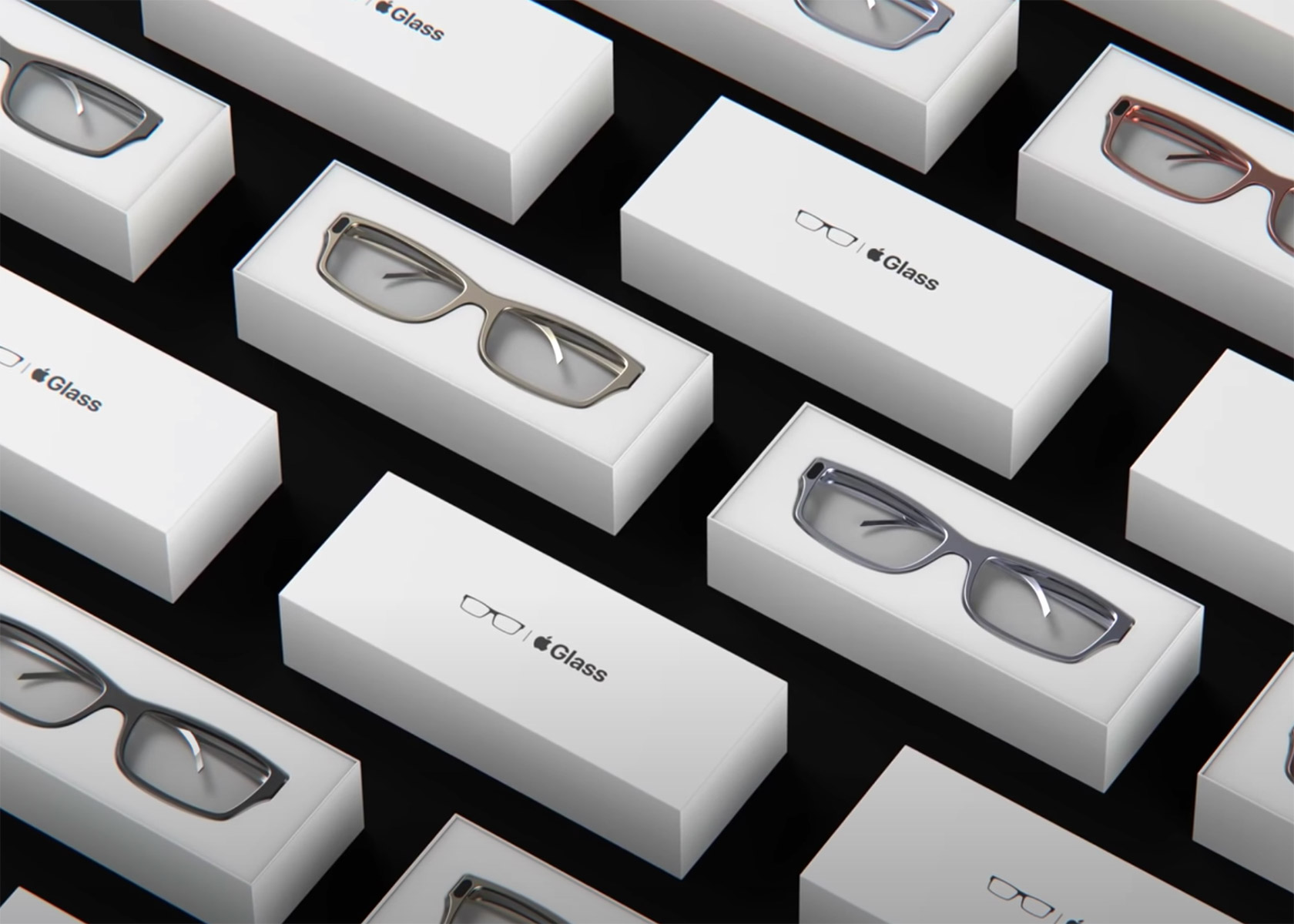 Apple Steve Jobs Edition Augmented Reality Glasses