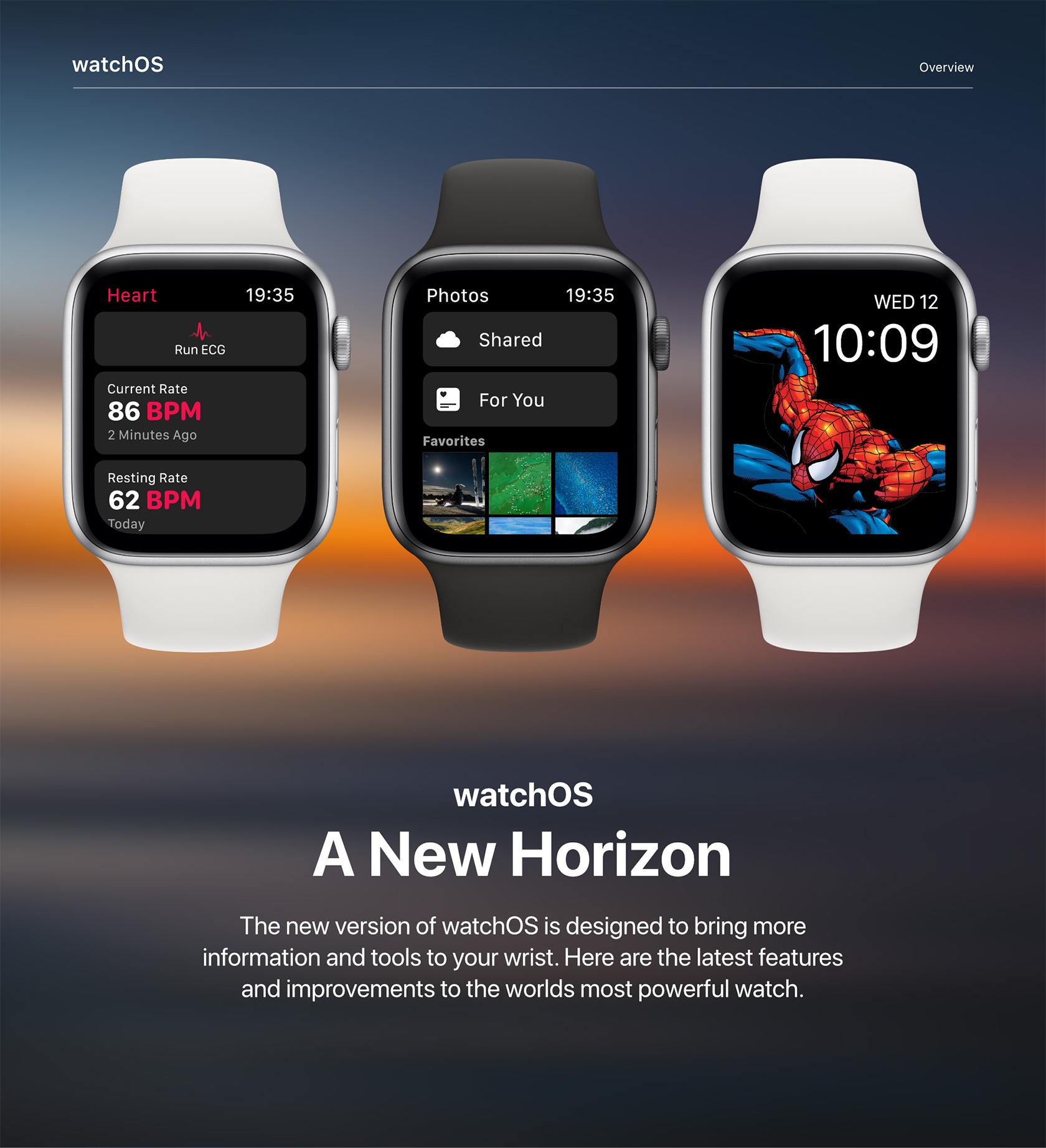 Apple watch WatchOS6
