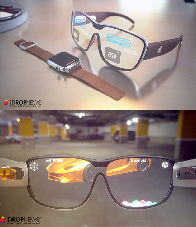 Apple Glasses Concept