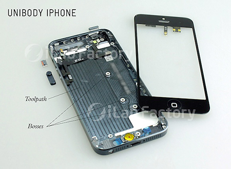 Leaked Images Show the Inside of Apple's iPhone 5