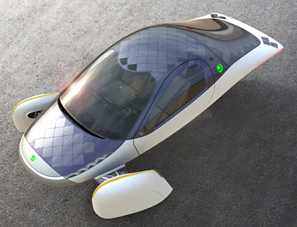 Aptera Solar Electric Car