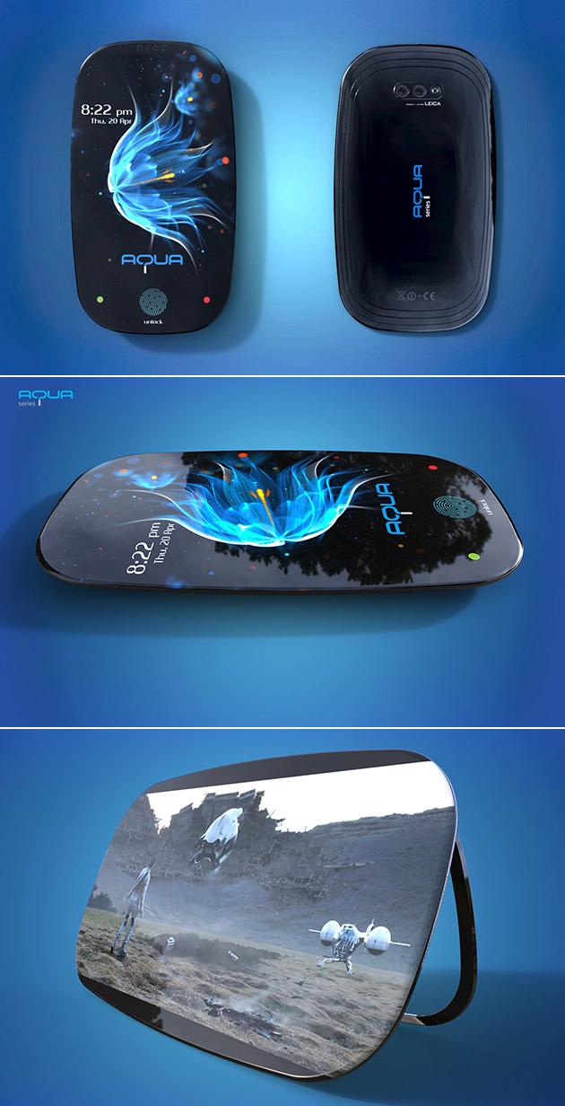 Aqua Smartphone