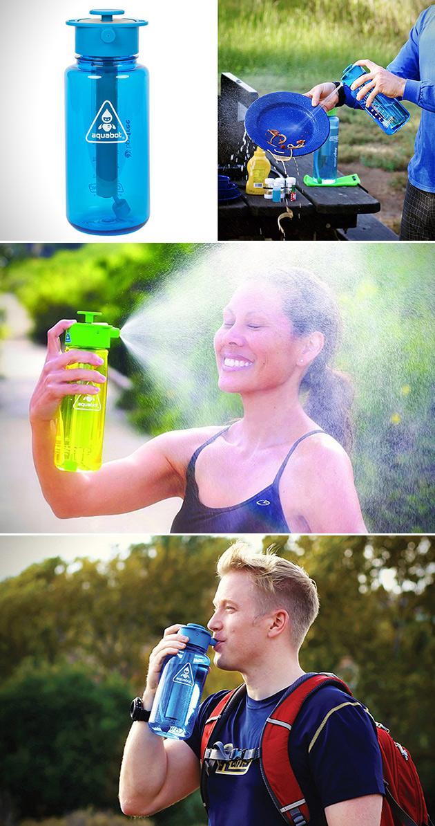 Aquabot Water Bottle Spray