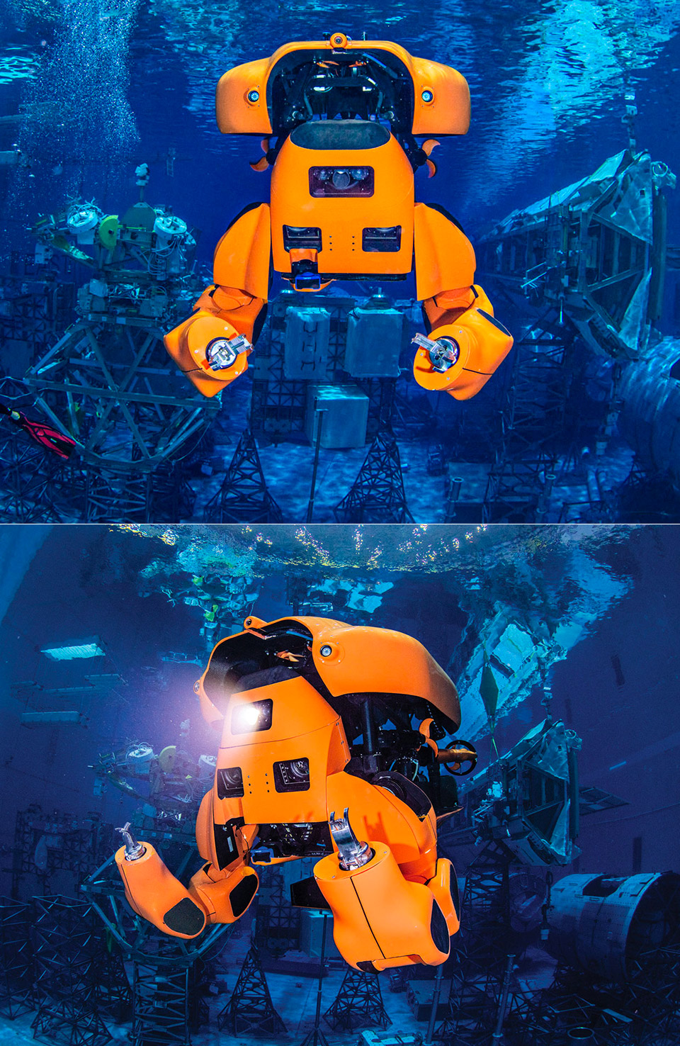 Aquanaut Underwater Transformer