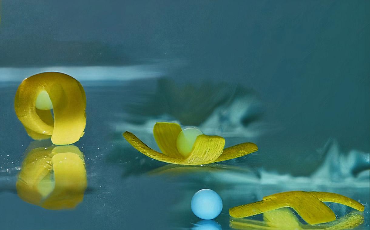 Aquatic Sea Robot Breakdance