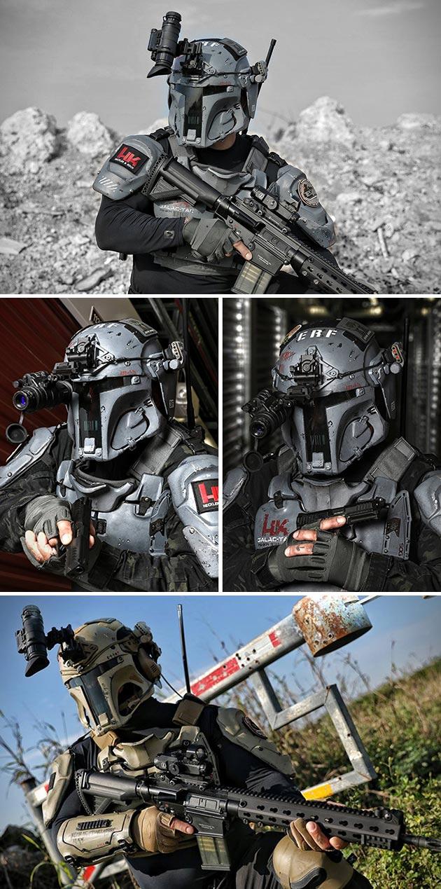 AR500 Mandolorian Armor