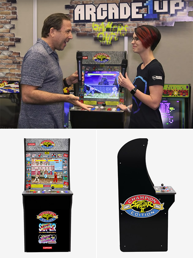 Arcade 1UP 3/4 Retro Game Cabinets