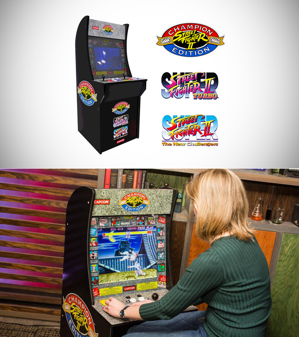 Arcade1Up Street Fighter Arcade