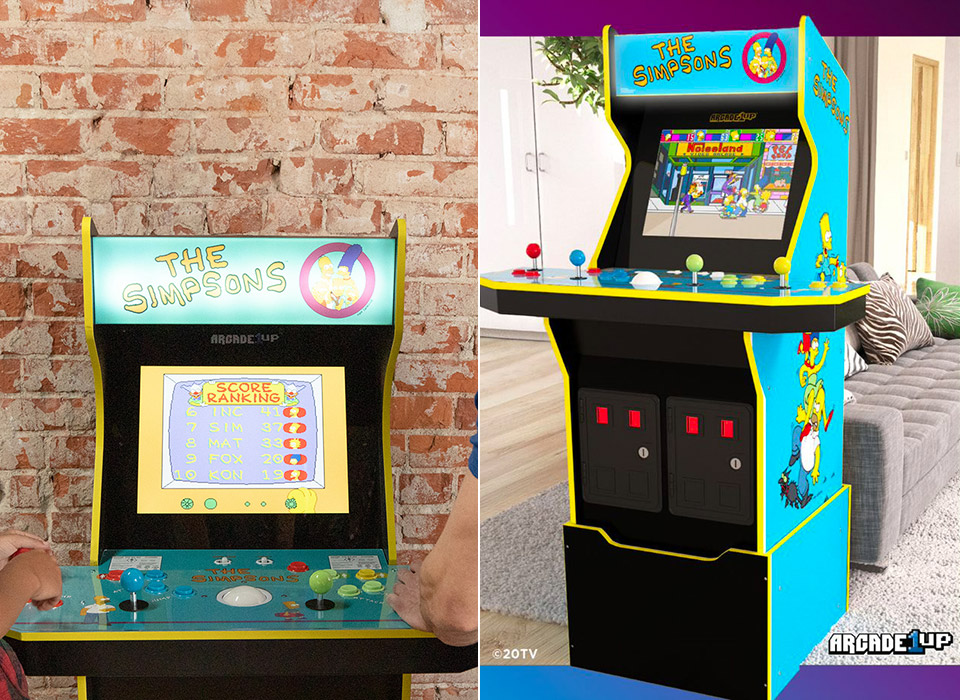 Arcade1Up The Simpsons Arcade Cabinet