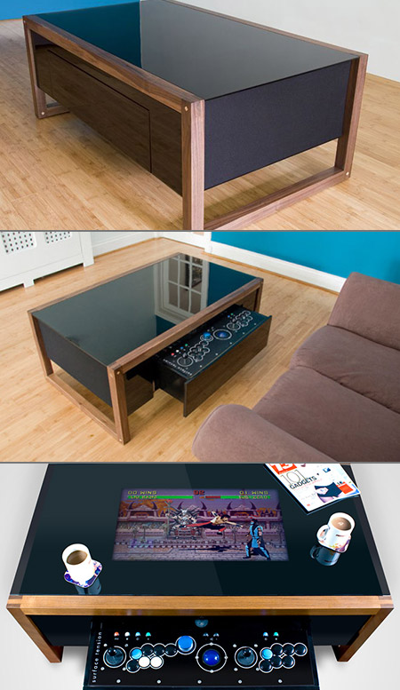 Mame Coffee Table.The Arcane Coffee Table Conceals A Geeky Secret Techeblog