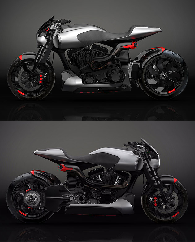 Arch Method 143 Motorcycle