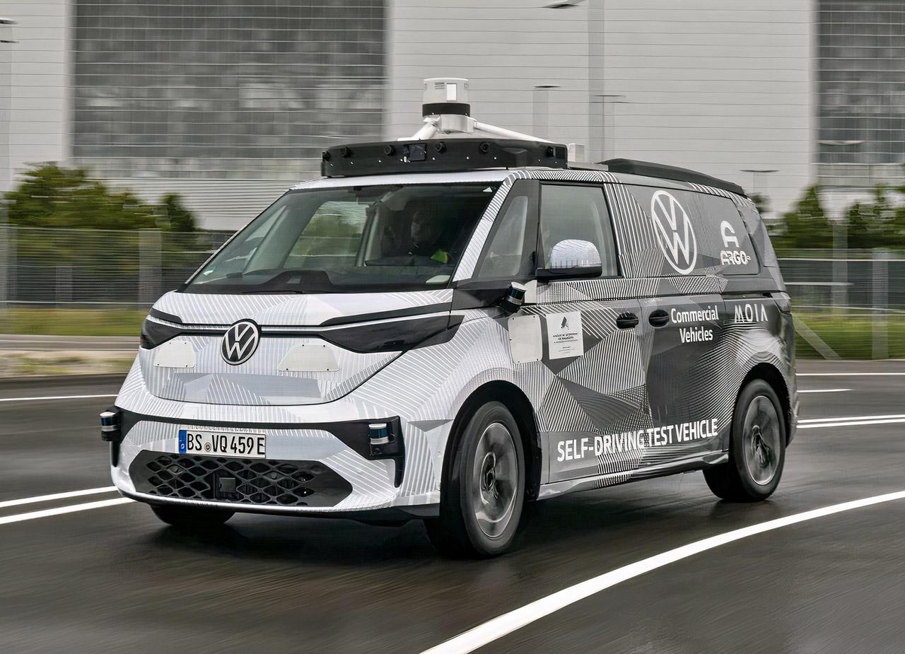 Argo AI Volkswagen Self-Driving Autonomous ID Buzz Robotaxi