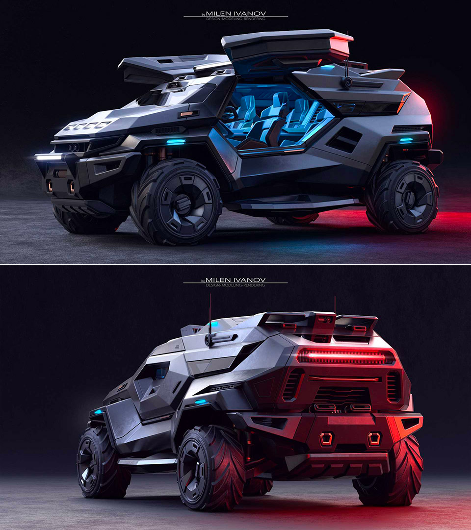Armortruck SUV