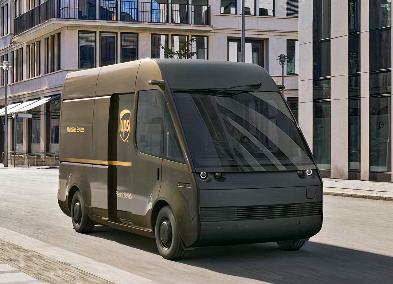 Arrival Electric Delivery Van
