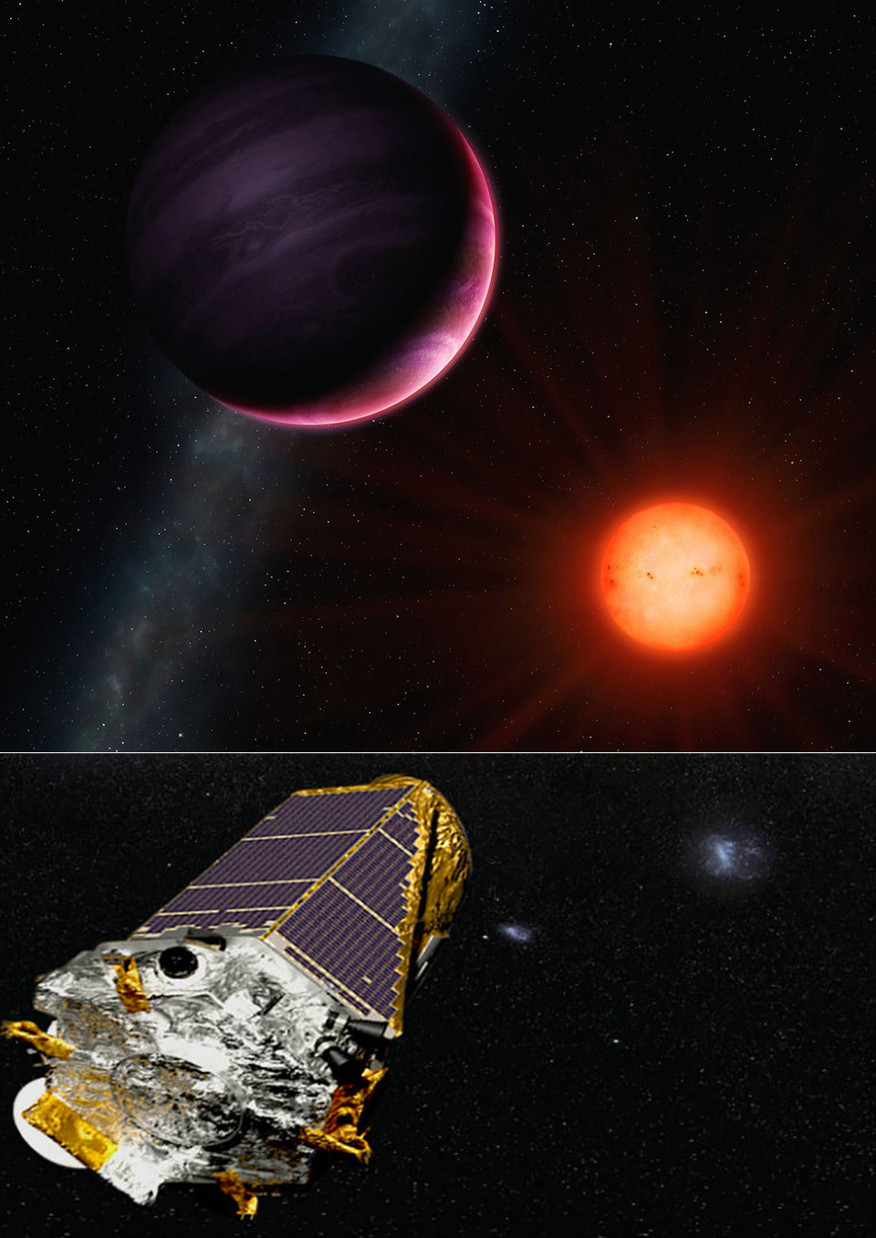 kepler spacecraft information - HD 960×1356