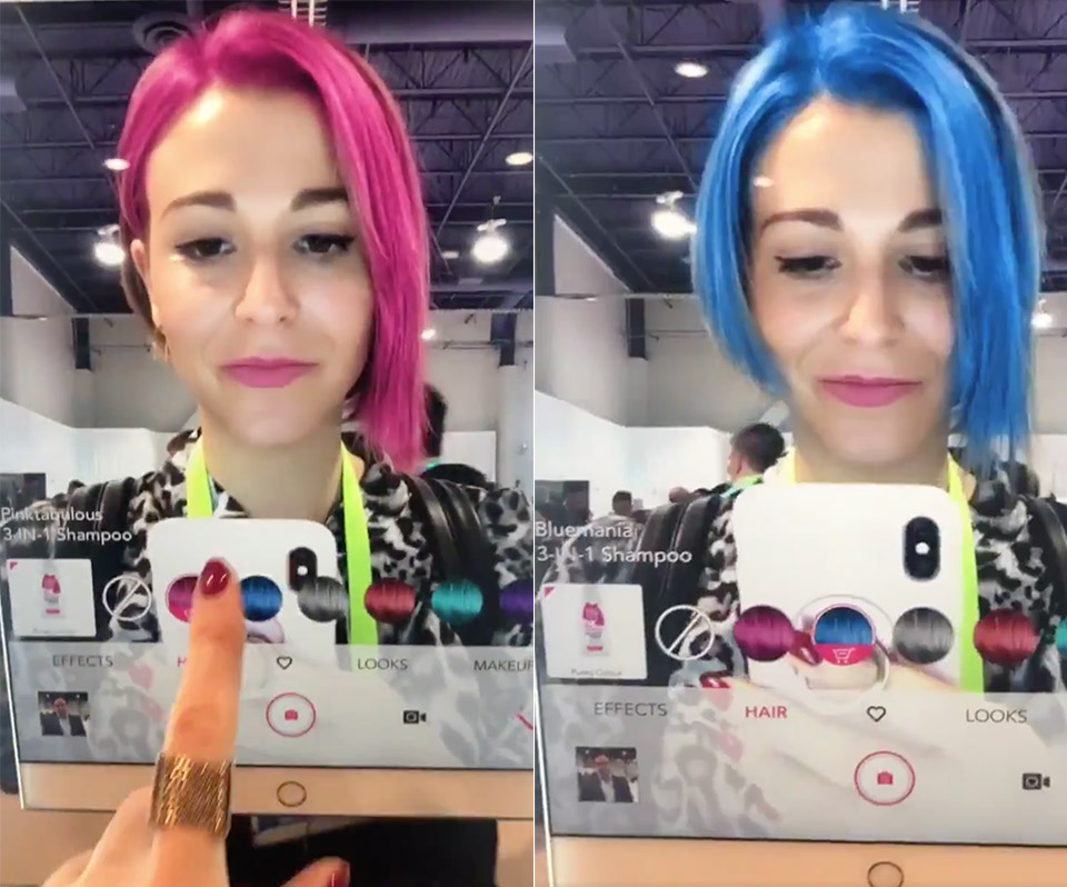 Artificial Intelligence Software Hair Color