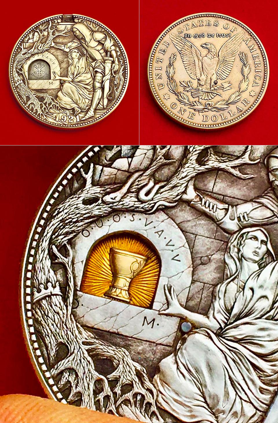 Artist Coins Secret Traps
