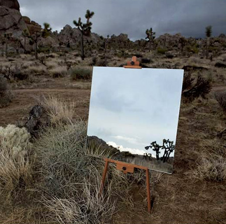 9 creative examples of how artists use mirrors techeblog for Uses of mirror