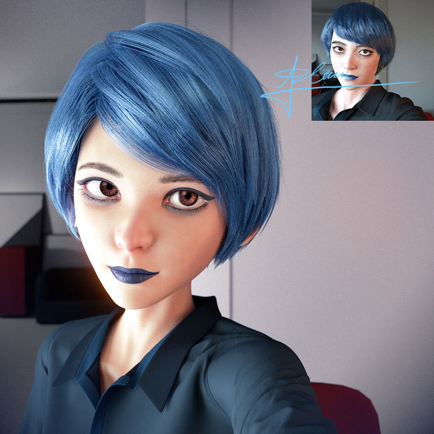 Instagram Pixar Characters