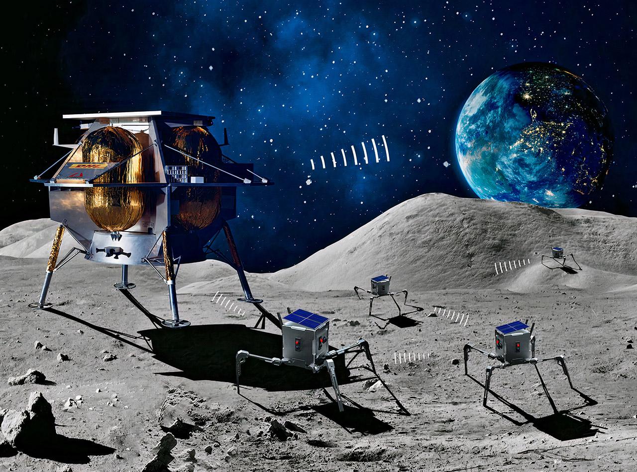 Asagumo Moon Lunar Rover Space UK