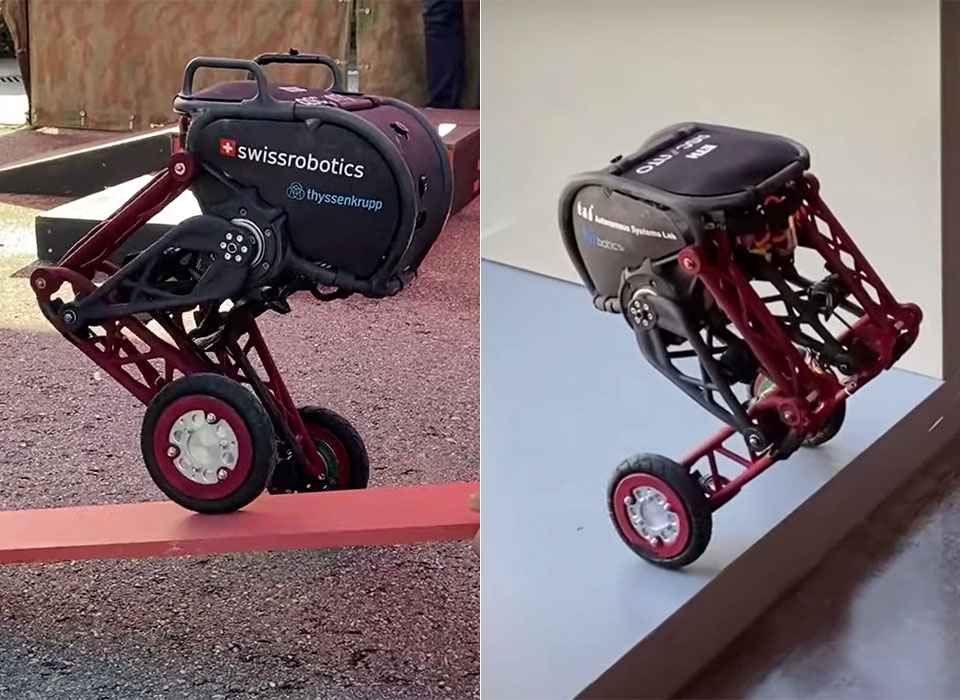 Ascento 2 Robot