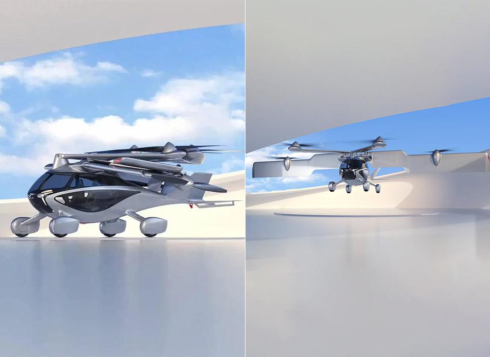 ASKA eVTOL Electric Vertical Takeoff Landing Flying Car