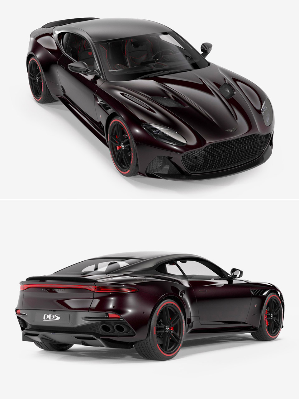 stealthy aston martin dbs superleggera tag heuer edition is perfect