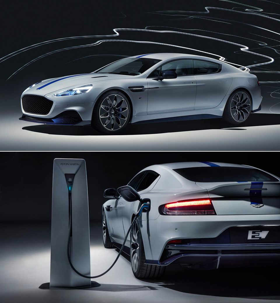 Aston Martin Rapide E Electric Car