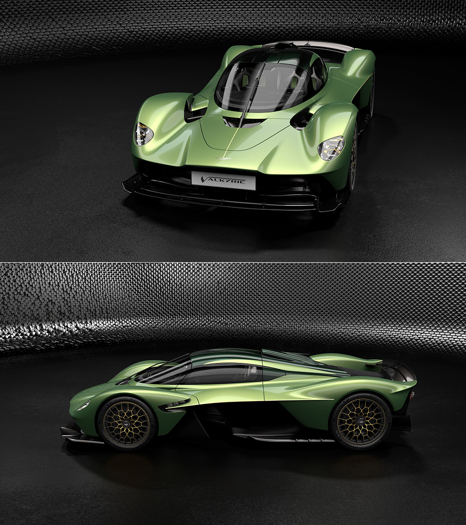 Aston Martin Valkyrie Gold Pack