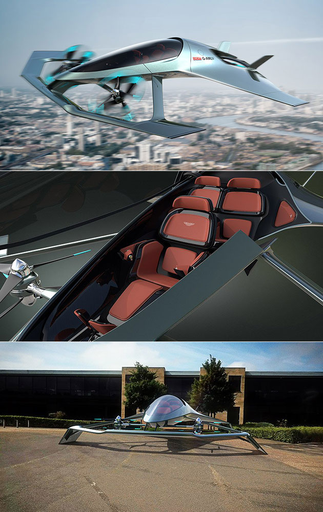 Aston Martin Vision Volante Aircraft