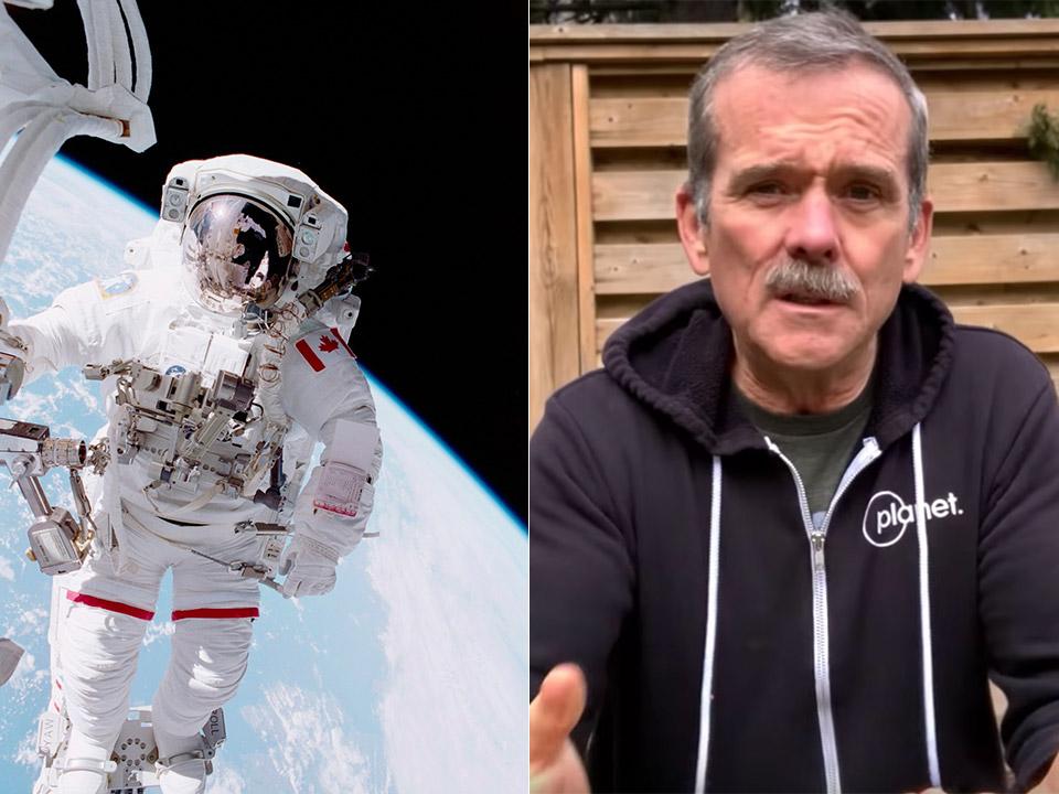 Astronaut Chris Hadfield NASA Isolation Corona virus