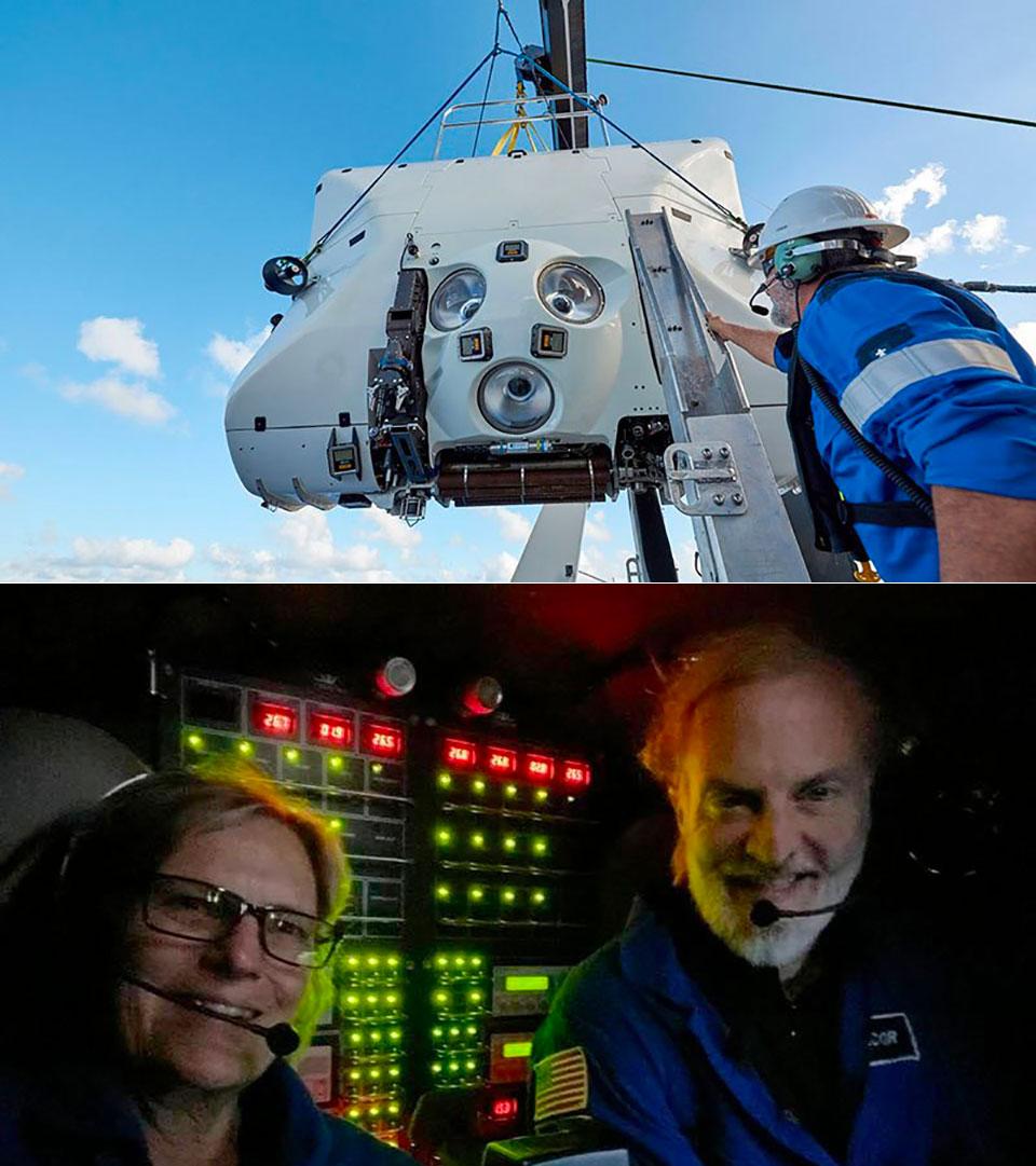 Astronaut Kathy Sullivan Challenger Deep