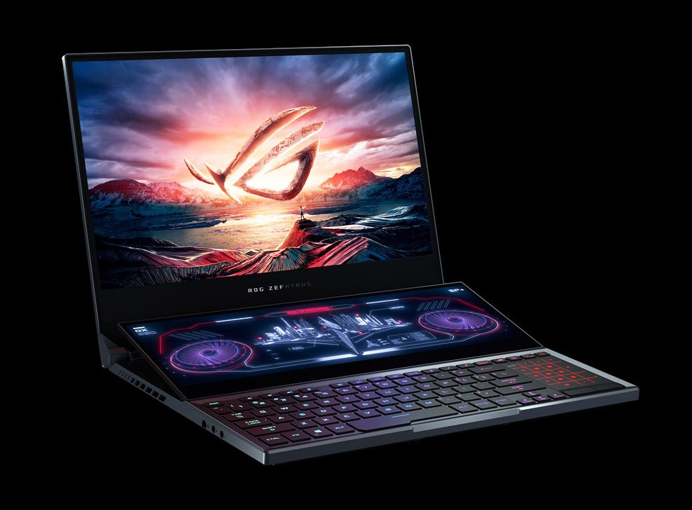 ASUS Zephyrus Duo 15 Dual-Screen Laptop
