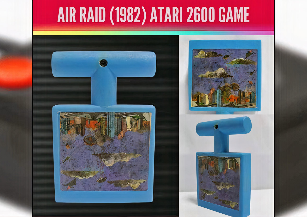 Atari 2600 Air Raid Goodwill Industries Donation