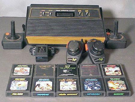 Atari techeblog - Original atari game console ...