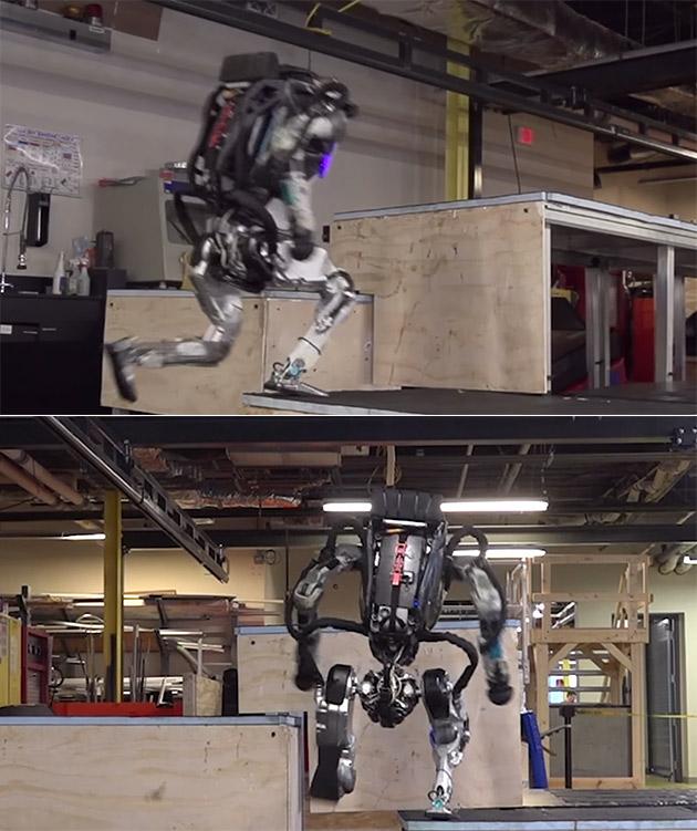 Atlas Robot Parkour