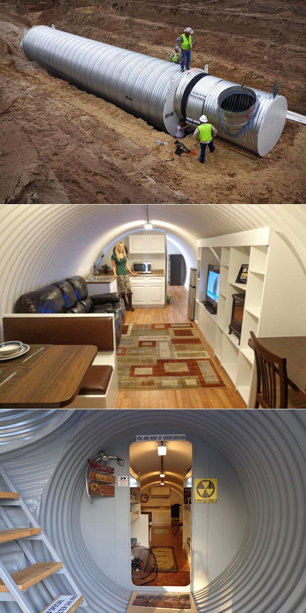Atlas Underground Survival Shelter