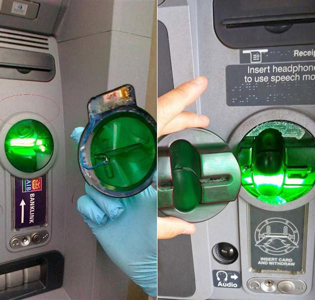 ATM Scam Card Reader