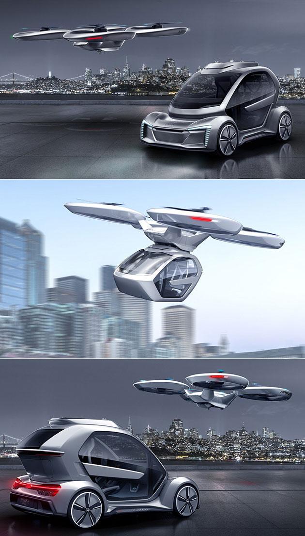 Audi Airbus Air Taxi