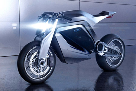 When Audi Meets Ducati, You Get The Sleek And Futuristic Motorcycle.  Designers Thibault Devauze And Marc Devauze From France, Along With Modeler  Clement ...