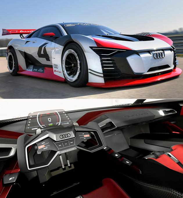 Audi E-Tron Vision Gran Turismo Is An 804HP Video Game