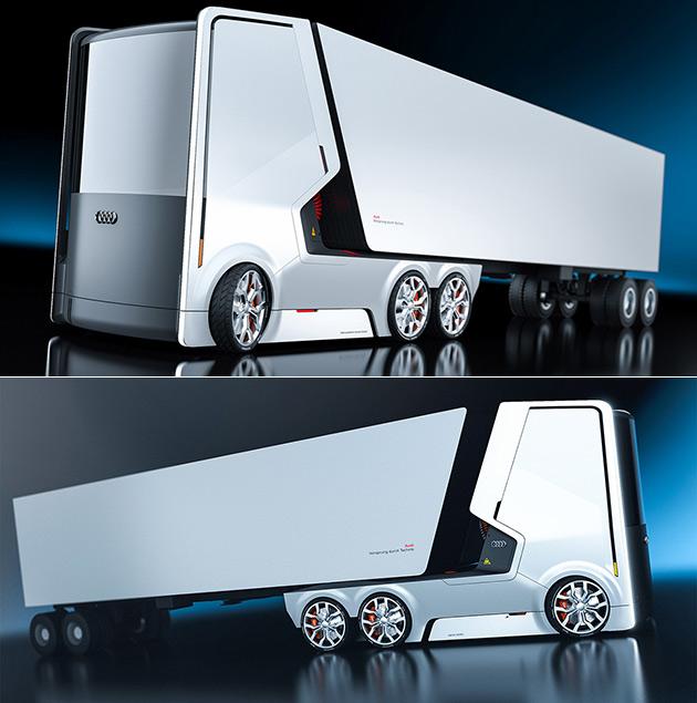 Audi Electric Truck