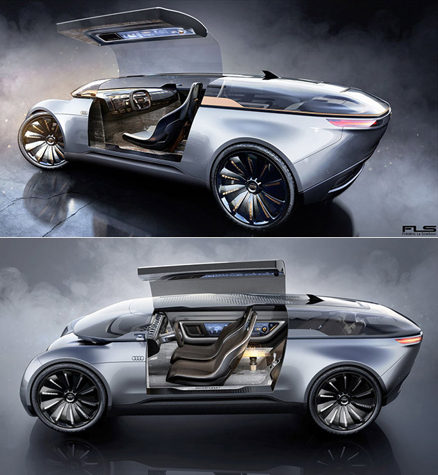 Audi E-Tron Imperator Concept Includes Holographic Display
