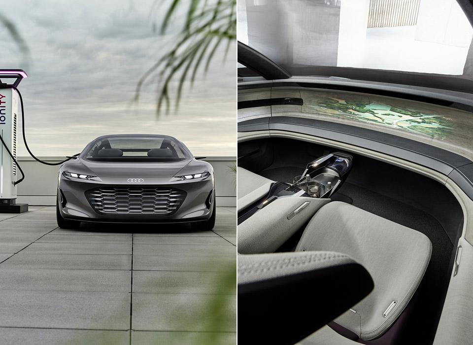 Audi Grandsphere Concept Private Jet Lounge