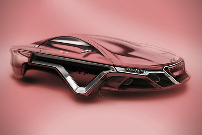 Audi Hover Car