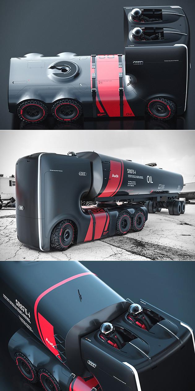 Audi Plan B Truck