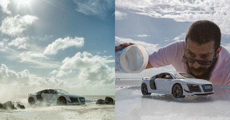 Audi R8 Beach