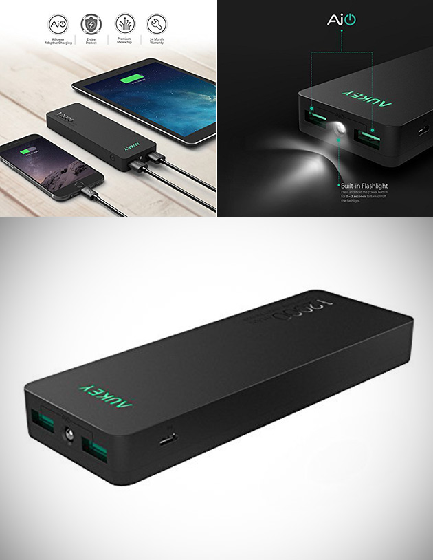 Aukey 12000mAh Power Bank