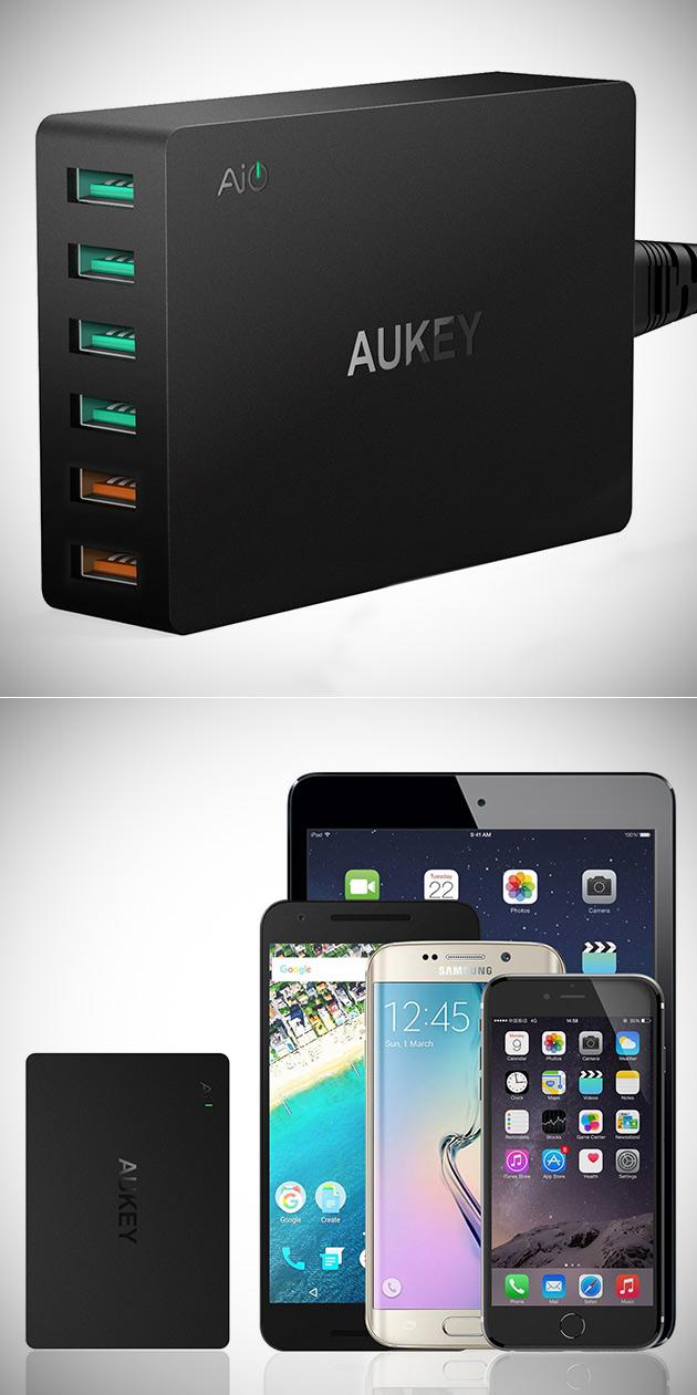 Aukey 6-Port USB